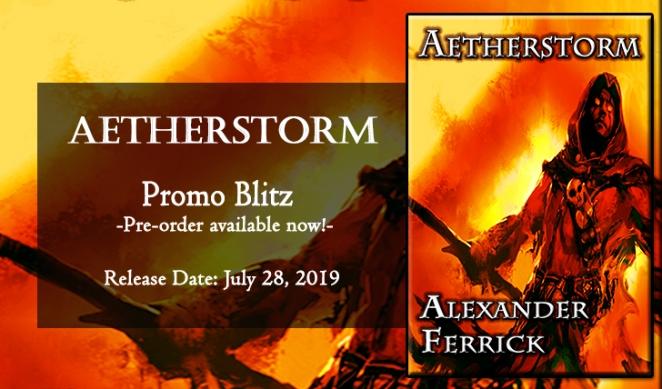 Aetherstorm Banner - Pre-Order