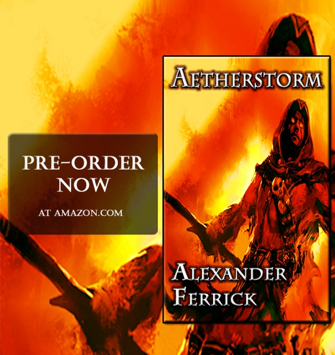 Aetherstorm Promo Photo - Pre-order